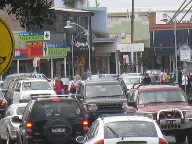 Jonson street gridlock. As a mall, it could become a cultural, social and economic meeting place