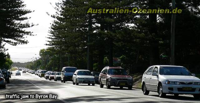 Image of Byron Bay posted on a German travel blog