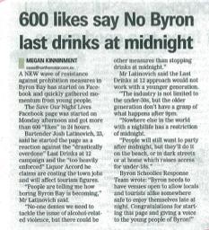 no byron last drinks