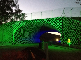 the tunnel with hula vollie